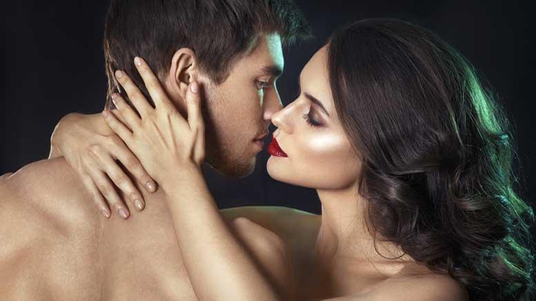 Sexfotos von Mann und Frau